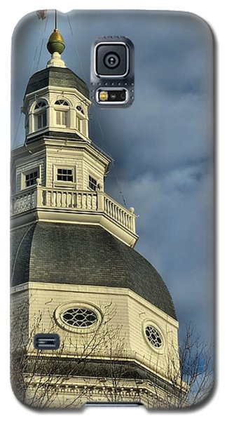 Annapolis Statehouse Galaxy S5 Case by Jennifer Wheatley Wolf