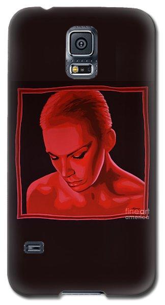 Rhythm And Blues Galaxy S5 Case - Annie Lennox by Paul Meijering