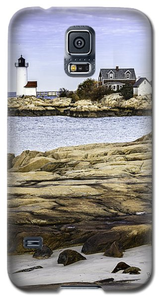 Galaxy S5 Case featuring the photograph Annisquam Light by Betty Denise