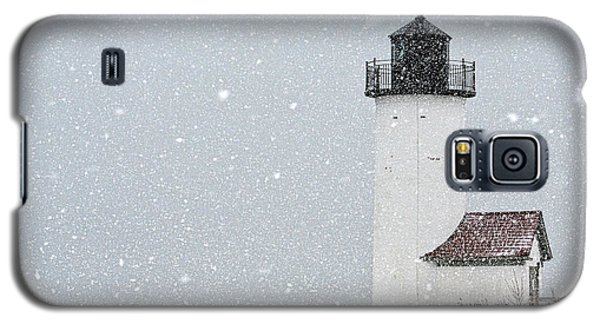 Annisquam Light-snow Storm 2 Galaxy S5 Case