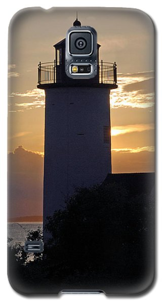 Annisquam Lighthouse Sunset Galaxy S5 Case