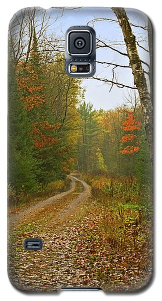 Galaxy S5 Case featuring the photograph Another Iola  Wisconsin Rural Road by Judy  Johnson