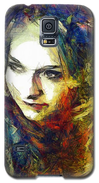 Galaxy S5 Case featuring the drawing Another Lonely Day by Joe Misrasi