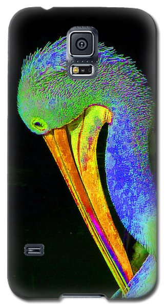 Galaxy S5 Case featuring the photograph Another Pelican Partygoer by Margaret Saheed
