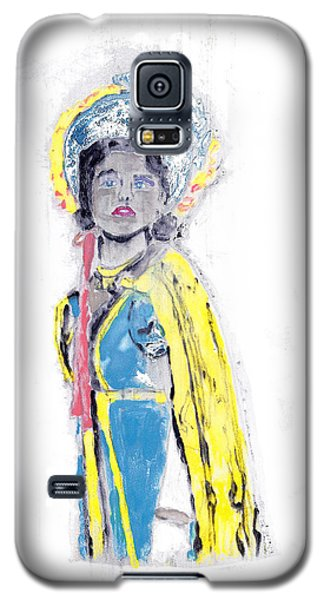 Another Time Monoprint Galaxy S5 Case by Verana Stark