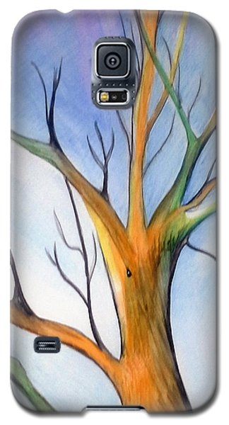 Another Tree Watercolor Galaxy S5 Case