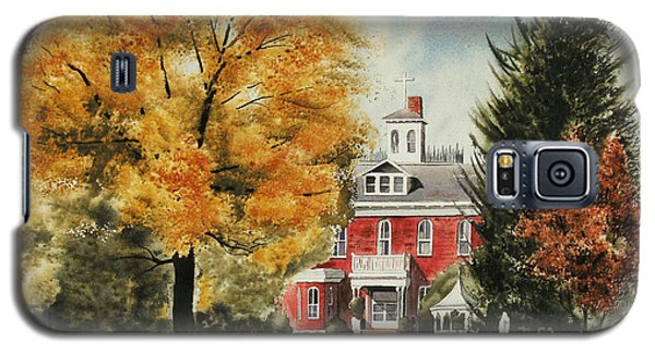 Antebellum Autumn Ironton Missouri Galaxy S5 Case by Kip DeVore