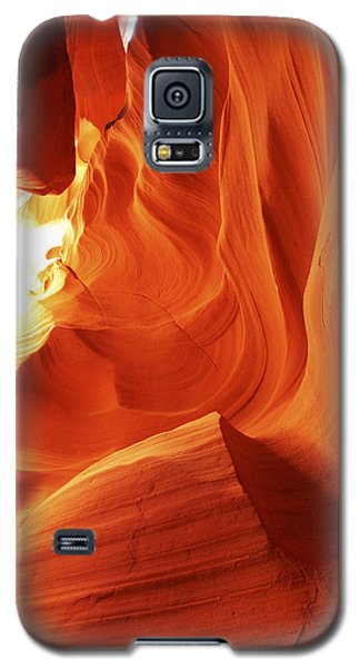 Galaxy S5 Case featuring the photograph Antelope Canyon In Winter Light 1 by Alan Vance Ley