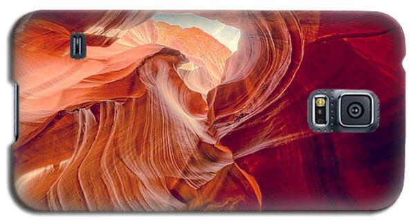 Antelope Canyon Navajo Nation Page Arizona Weeping Warrior Galaxy S5 Case