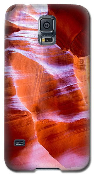 Galaxy S5 Case featuring the photograph Antelope Canyon No. 12 by Jim Snyder