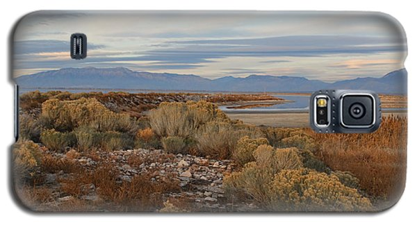 Galaxy S5 Case featuring the photograph Antelope Island - Scenic View by Ely Arsha