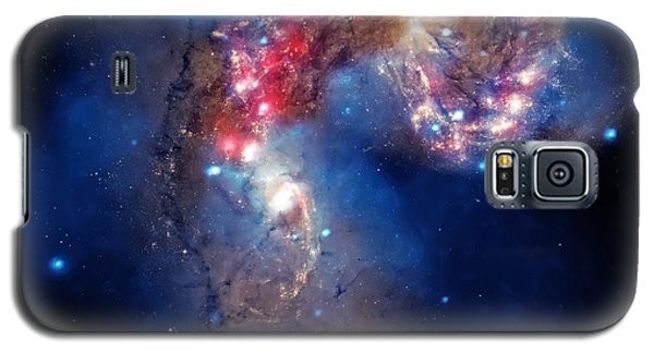 Antennae Galaxies Collide 2 Galaxy S5 Case
