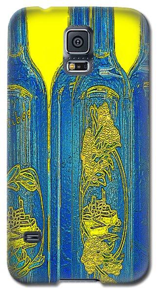 Antibes Blue Bottles Galaxy S5 Case
