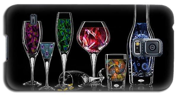 Galaxy S5 Case featuring the digital art Antibody Cocktails by Megan Dirsa-DuBois