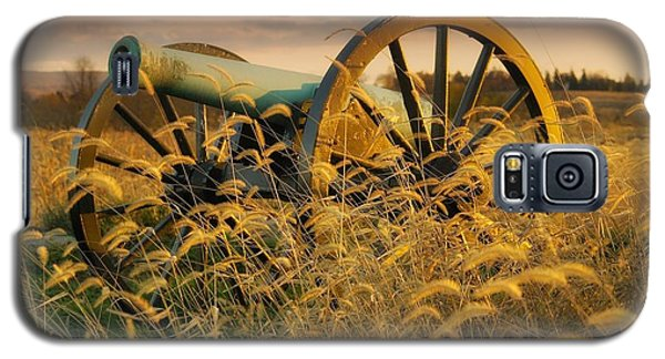 Galaxy S5 Case featuring the photograph Antietam Maryland Cannon Battlefield Landscape by Paul Fearn