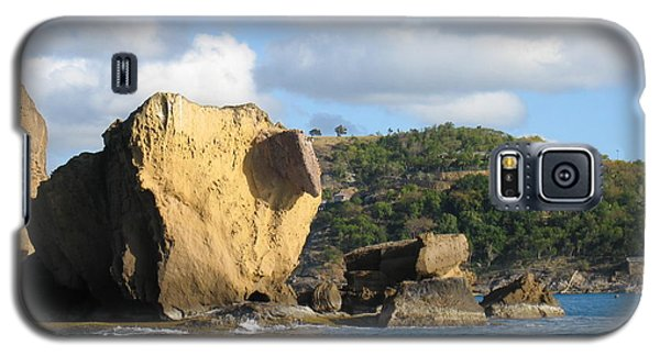 Galaxy S5 Case featuring the photograph Antigua - Aliens by HEVi FineArt