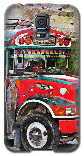Antigua Bus Stop Galaxy S5 Case