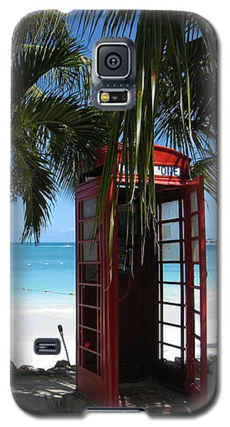 Antigua - Phone Booth Galaxy S5 Case