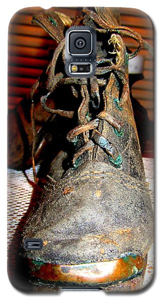 Antique Boots Galaxy S5 Case