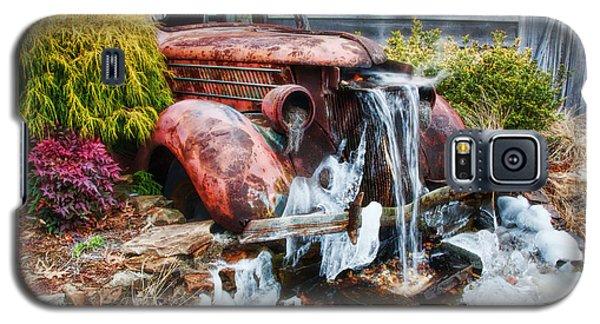 Antique Car Water Fountain Columbus Georgia Galaxy S5 Case