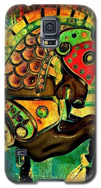 Antique Carousel Horse Galaxy S5 Case