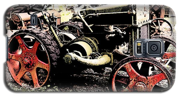 Antique Case Tractor Red Wheels Galaxy S5 Case