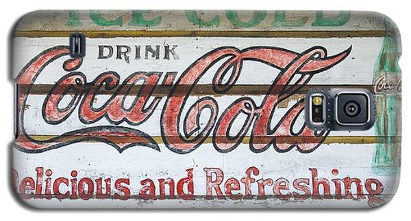 Antique Coca Cola Sign  Galaxy S5 Case