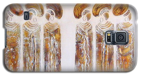 Antique Copper Zulu Ladies - Original Artwork Galaxy S5 Case