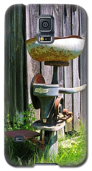 Galaxy S5 Case featuring the photograph Antique Cream Separator by Sherman Perry