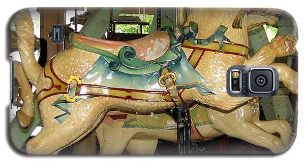 Antique Dentzel Menagerie Carousel Cat Galaxy S5 Case