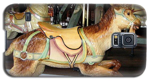 Antique Dentzel Menagerie Carousel Goat Galaxy S5 Case