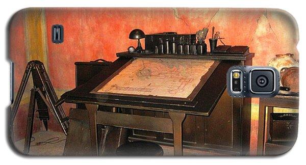 Antique Nautical Desk Galaxy S5 Case