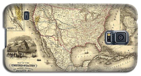 Antique North America Map Galaxy S5 Case