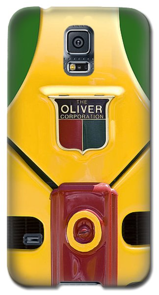 Antique Oliver Tractor Galaxy S5 Case by Tom Mc Nemar