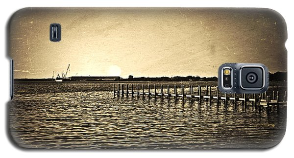 Antique Photo Of Pier  Galaxy S5 Case