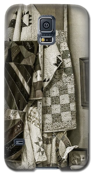 Antique Quilts Galaxy S5 Case