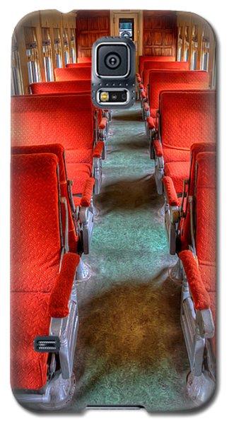 Antique Railroad Coach Car Galaxy S5 Case