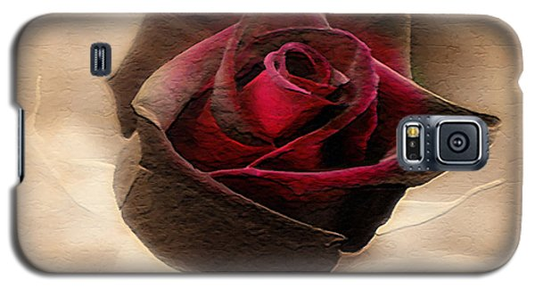Antique Red Rose Galaxy S5 Case