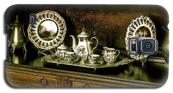 Antique Tea Set Galaxy S5 Case