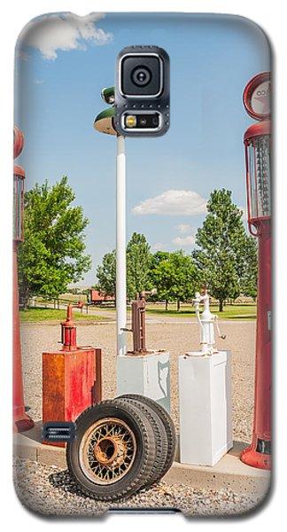 Antique Texaco Pumps Galaxy S5 Case