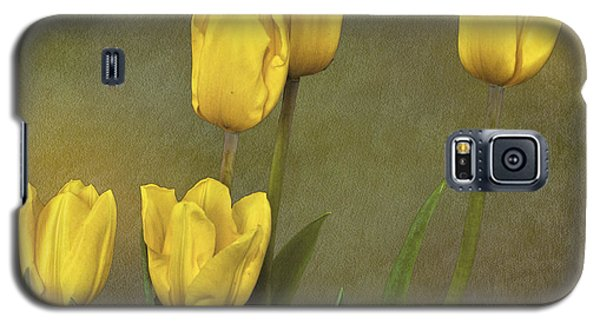 Antique Tulip Bouquet Galaxy S5 Case