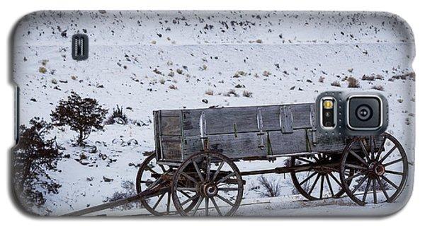 Antique Wagon Galaxy S5 Case