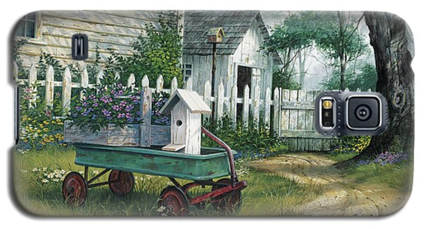 Antique Wagon Galaxy S5 Case by Michael Humphries