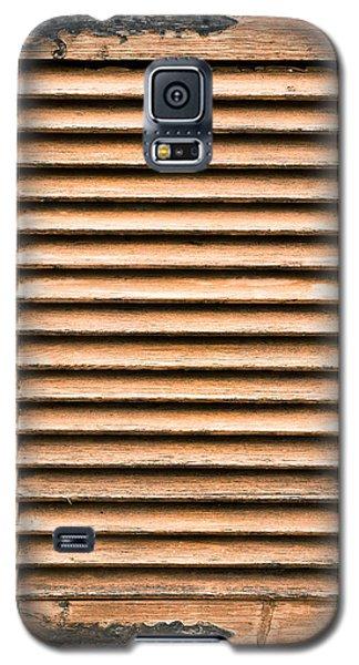 Antique Wooden Shutter Galaxy S5 Case by Tom Gowanlock