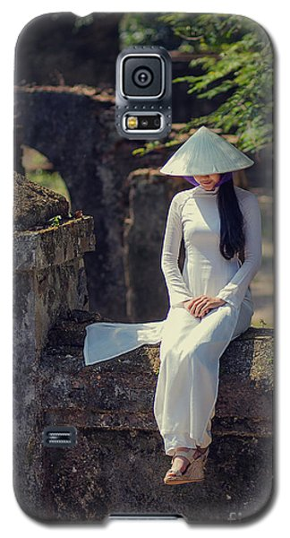 Ao Dai White Galaxy S5 Case