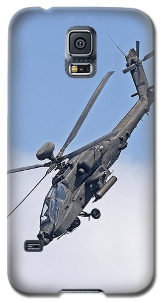 Apache Attack Helicopter Galaxy S5 Case by Paul Scoullar
