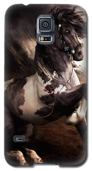 Apache Blue Galaxy S5 Case by Shanina Conway