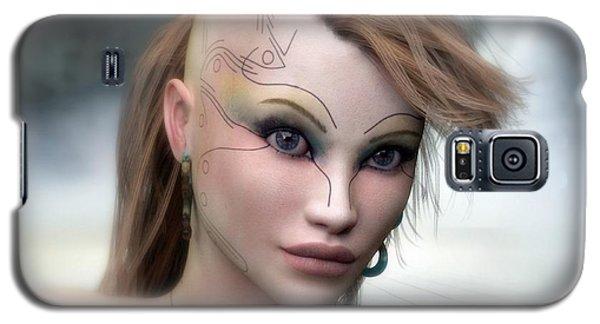 Galaxy S5 Case featuring the digital art Aphrodite by Sandra Bauser Digital Art