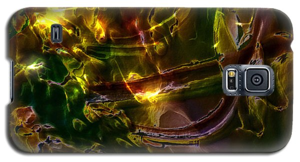 Galaxy S5 Case featuring the digital art Apocryphal - Tilting From Beastback by Richard Thomas