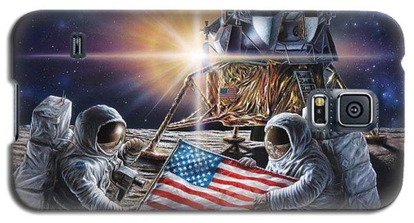 Apollo 11 Galaxy S5 Case by Don Dixon